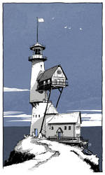 Lighthouse by TangoCharlieESQ