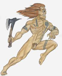 Naked celt by majna