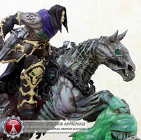 SOTA THQ Darksiders 2 Death statue is coming by StateOfTheArt-toys