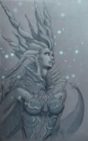 Shiva from Final Fantasy XIV by AlexRoivas