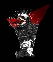 Venom the symbiote by AlexRoivas