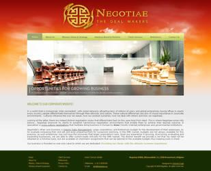 Negotiae - Homepage final by AntoniaVG