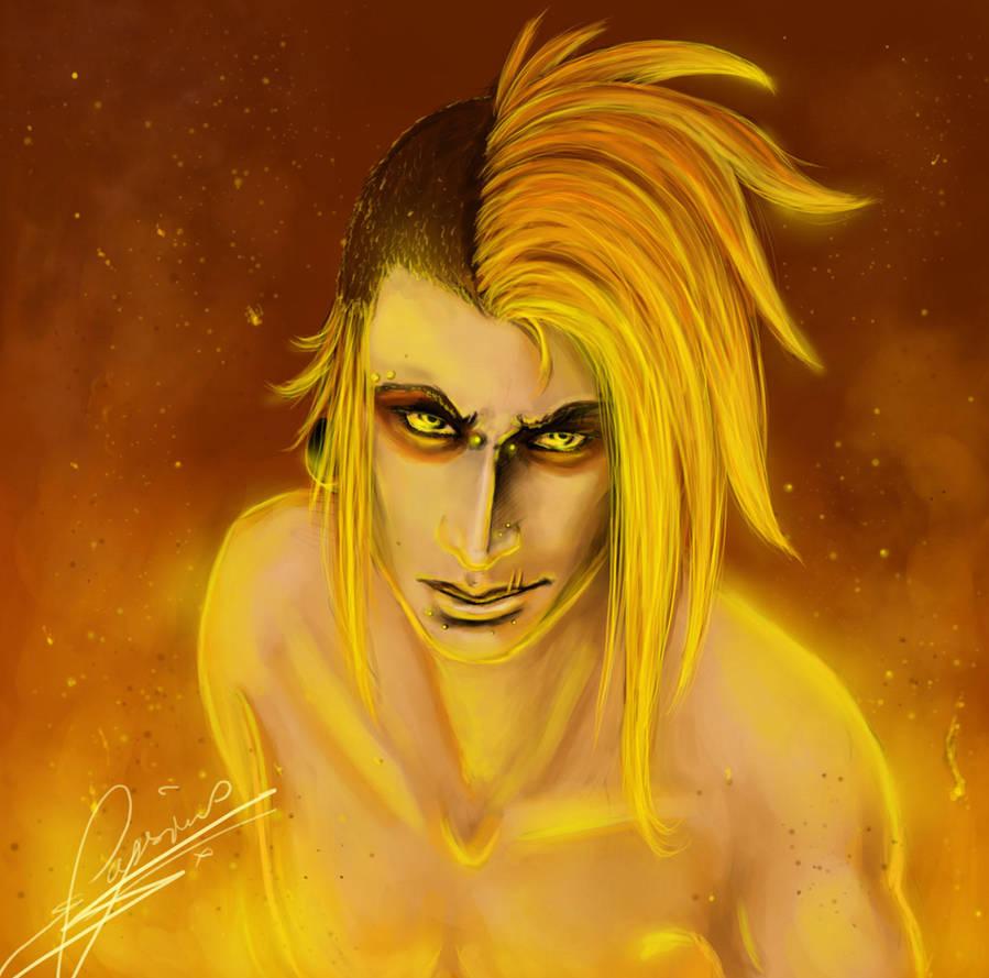 Feel the fire. by Em-j-akahana