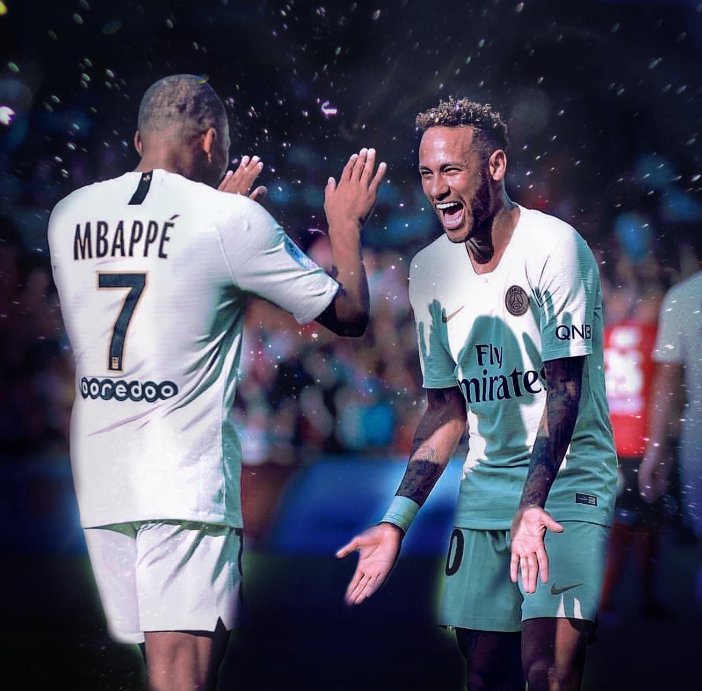 Neymar And Mbappe Psg 1819 By Theavengerx On Deviantart