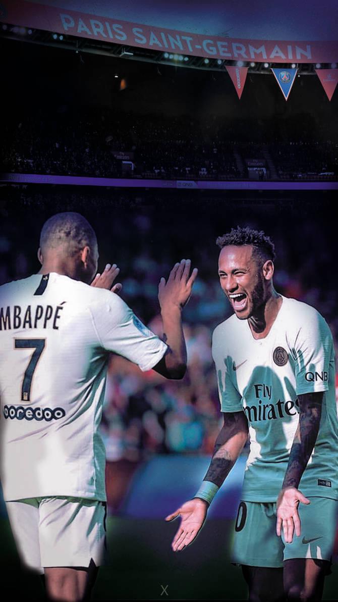 Neymar And Mbappe 1819 Mobile Wallpaper By Theavengerx On Deviantart