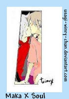 Soul And Maka Kiss by usagi-winry-chan