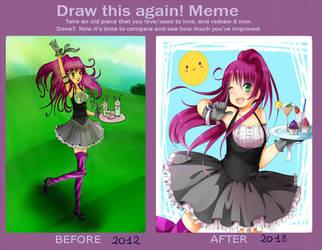 Draw This Again 14 by RimoOfArtSchool