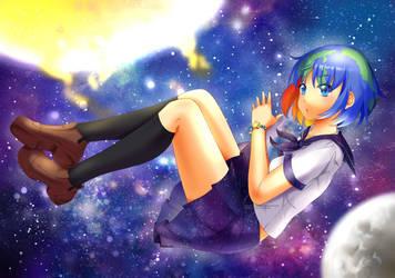 Earth-chan  [Speedpaint] by RimoOfArtSchool