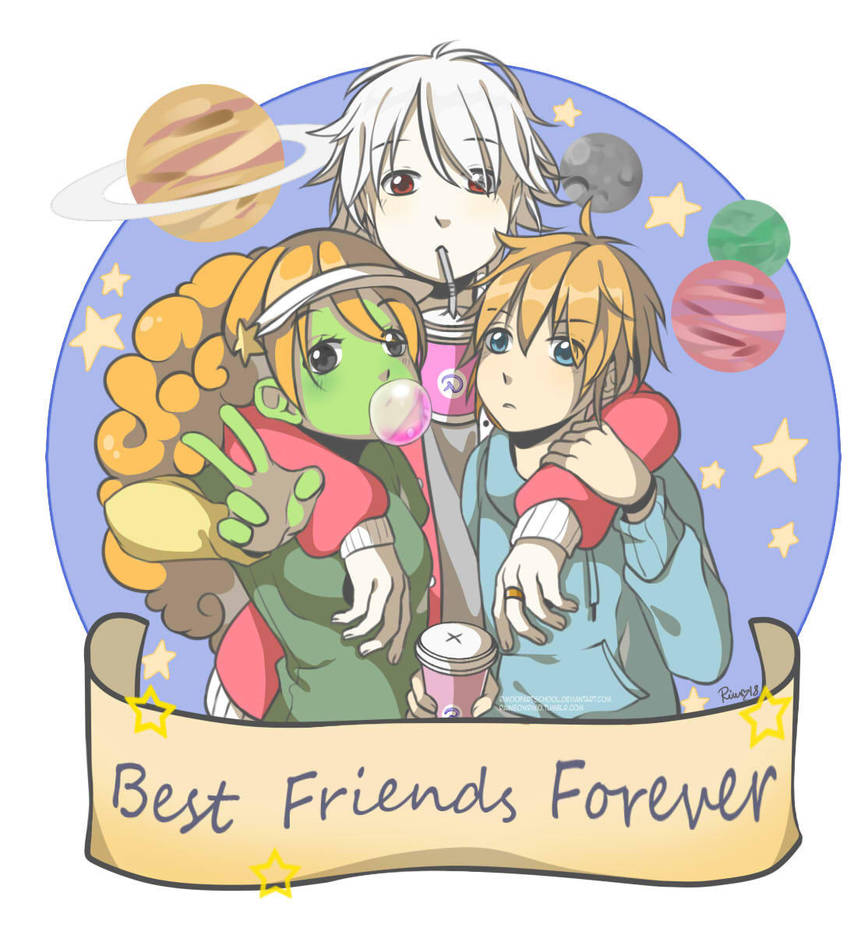 Space Friends by RimoOfArtSchool