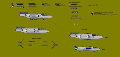 Bombardero tactico-espacial Vindicador MKII by Alexeis1993