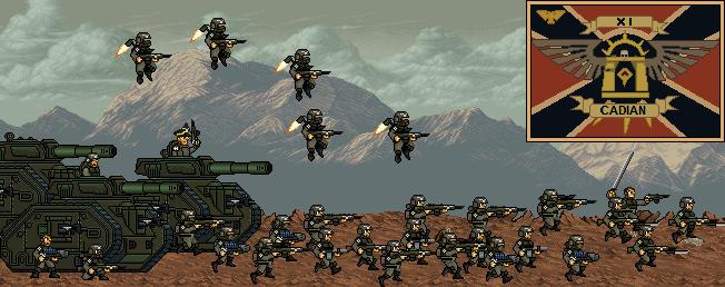 El 11no regimiento se moviliza by Alexeis1993