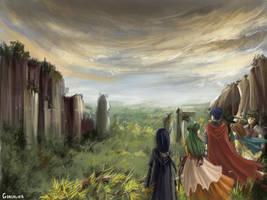 Threshold of Gallia by Gondalier