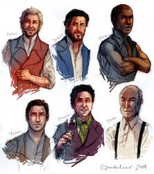 Mistborn: Shady Characters by Gondalier