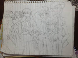 Ouran Highschool Host Club by sdcu