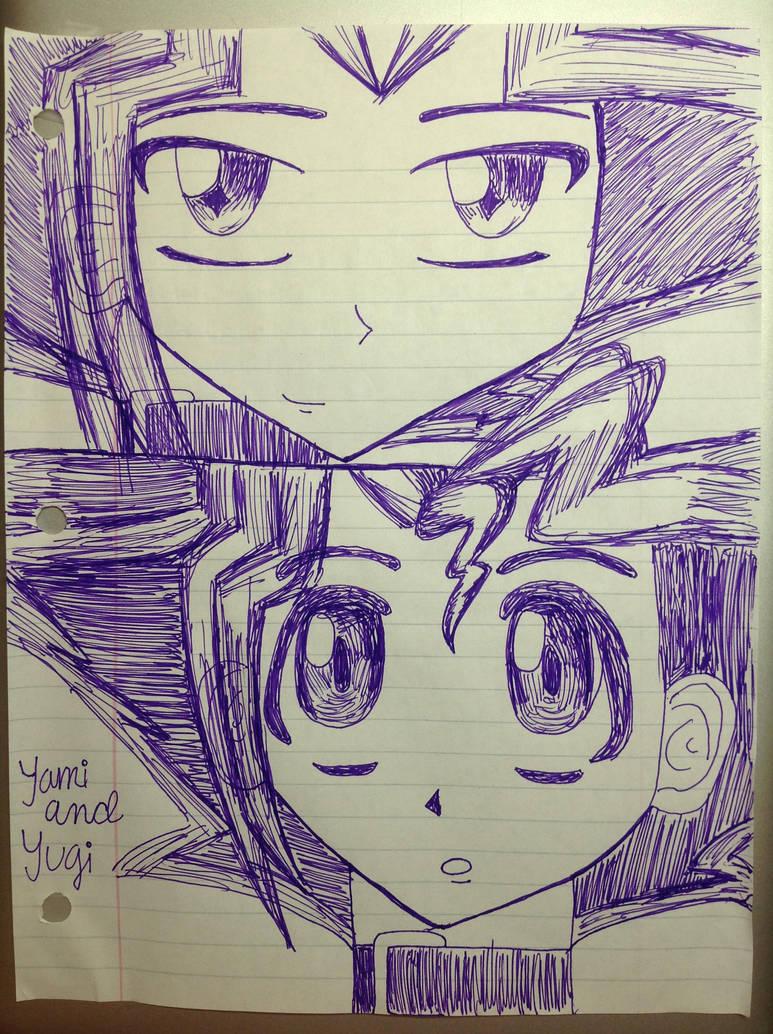 Yami and Yugi by sdcu