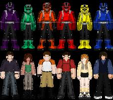 Power Rangers Wild Gunners by heavenlymythicranger
