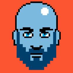 Pixelf portrait by IlNedo