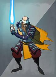 Jedi self portrait by IlNedo