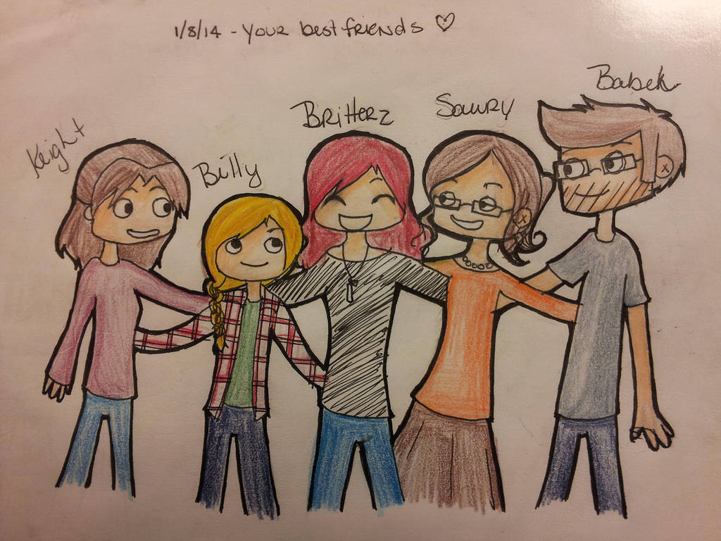 Britterz Day 2 Draw Your Best Friends By Mikey Vs Britterz On