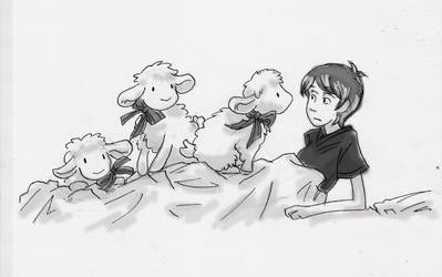 Can't sleep - Count sheep by EviLLL