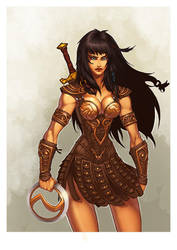 Xena warrior princess by Art-veider
