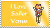 I love Sailor Venus stamp by princessfromthesky