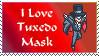 I love Tuxedo Mask stamp by princessfromthesky