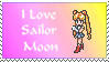 I love Sailor Moon stamp by princessfromthesky