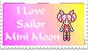 I love sailor mini moon stamp by princessfromthesky