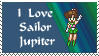 I love sailor jupiter stamp by princessfromthesky