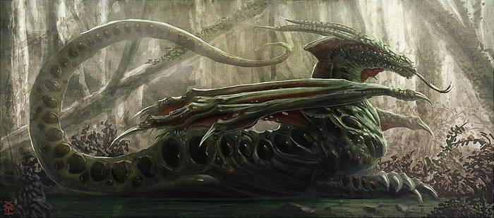SwampDragon by Akiman