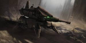 legged tank Concept by Akiman
