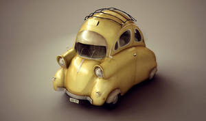 Mini Car Design by Anuk