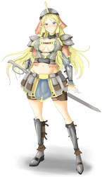 High elf Warrior by Snifer25