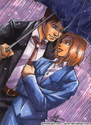 PSC - Mulder and Scully by aimo