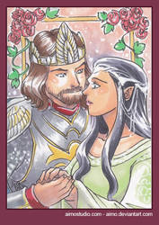 PSC - Aragorn and Arwen by aimo