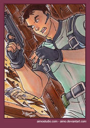 PSC - Chris Redfield by aimo