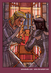 PSC - Zevran and Tabris 3 by aimo