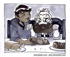 DA2 - Anders and Hawke by aimo