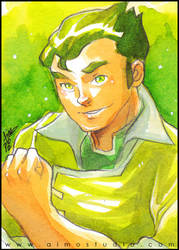 Earthbender Bolin by aimo