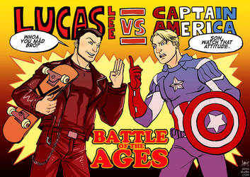 Lucas Lee VS The Cap by aimo