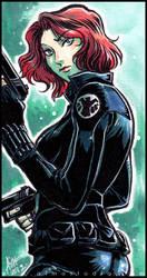 Black Widow by aimo