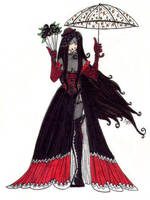 Gothic Lolita by newvani