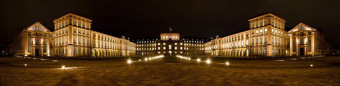 Palace of Mannheim by Benijamino