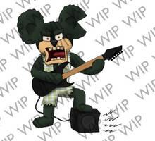 WIP - METAL BEAR by SIM0N2