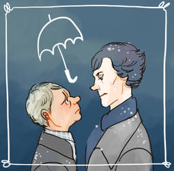 BBC Sherlock and John by koenta