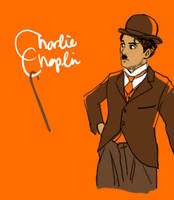 charlie chaplin by koenta