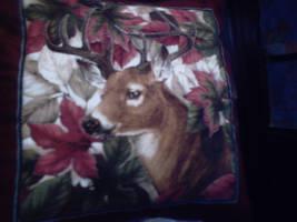Deer Pillow by rosercrystal