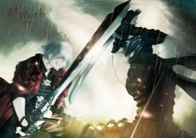 Dante vs. Ryu by G-Matoshi