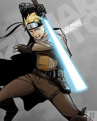 Jedi Naruto Uzumaki by G-Matoshi
